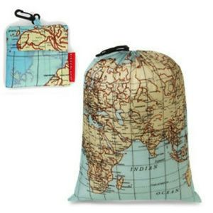 Handbags - World Map Drawstring Bag. Travel / Hike Bag